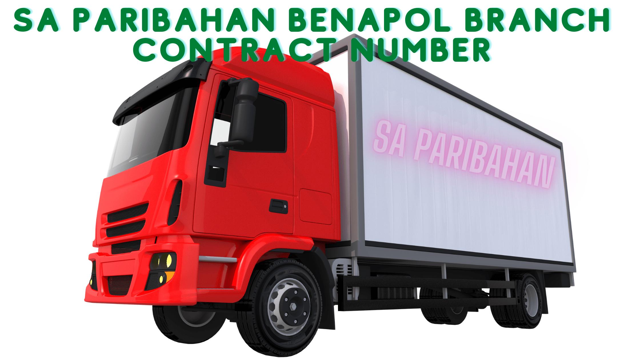 SA Paribahan Benapol Branch